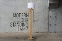 Diy Modern Floor Standing Lamp Free Plans throughout dimensions 1280 X 720