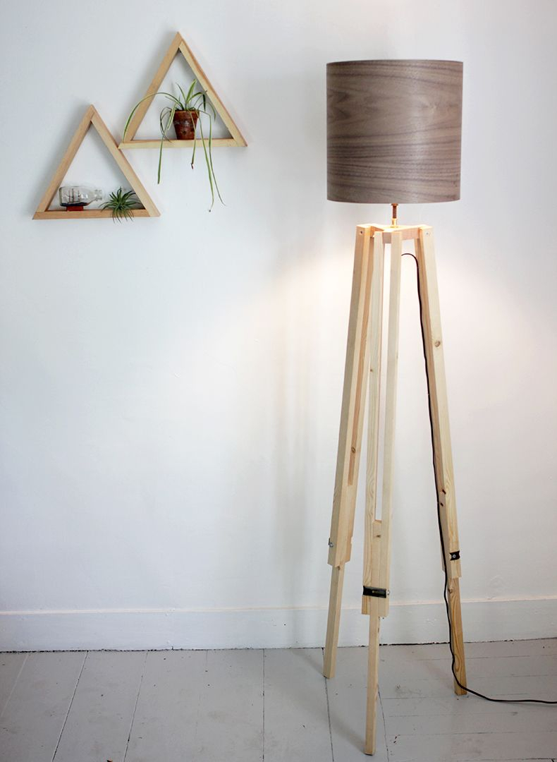 Diy Tripod Floor Lamp Diy Floor Lamp Diy Flooring Diy Tripod pertaining to size 790 X 1080