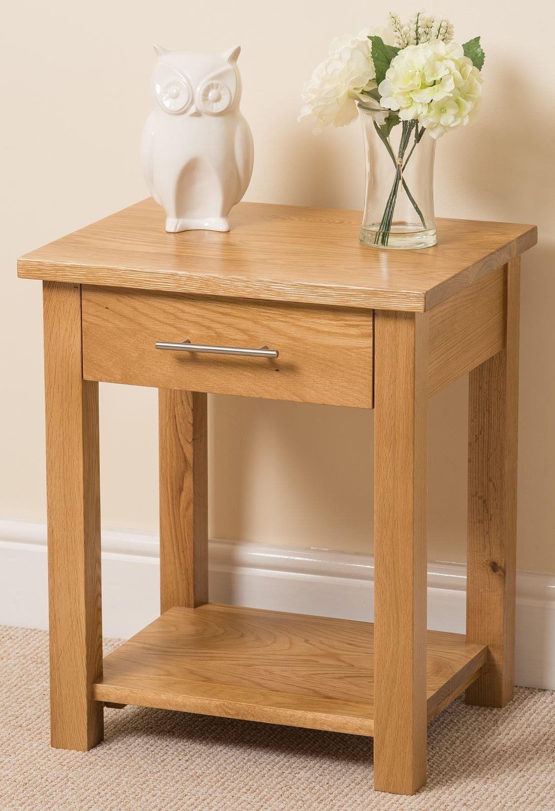 Furniture Sideend Tables Kuba Solid Oak Wood Lamp Side with regard to proportions 1096 X 1600