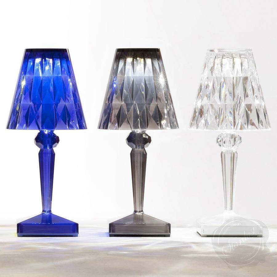 Kartell Portable Led Rechargeable Battery Table Lamp Vongem intended for dimensions 900 X 900