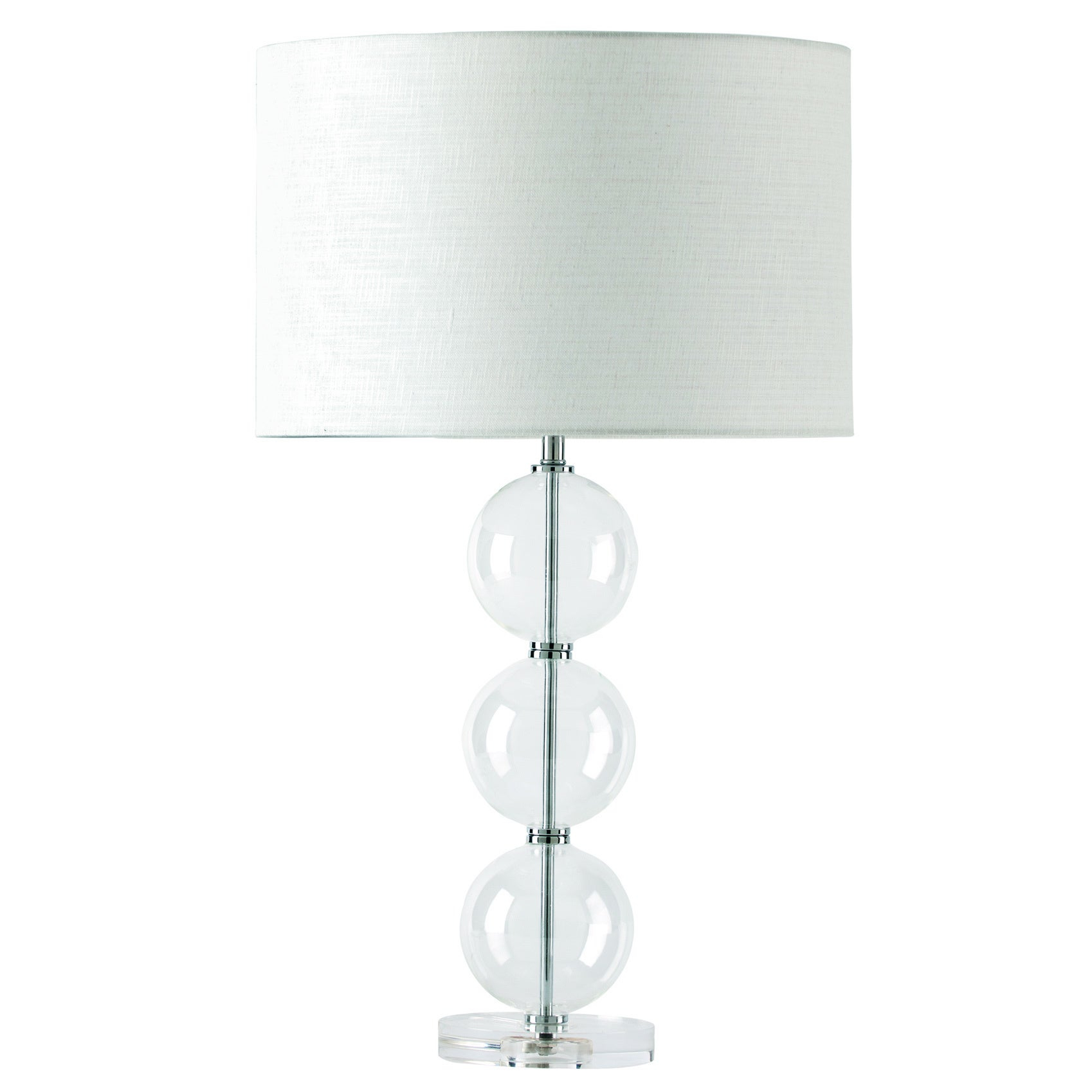 Knox 20 Inch Modern Glass Table Lamp pertaining to proportions 1698 X 1698