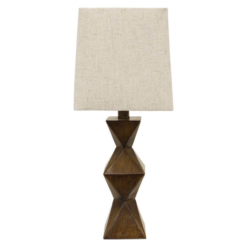 Knox Stacked Geometric Table Lamp Brown In 2019 Products inside measurements 1024 X 1024