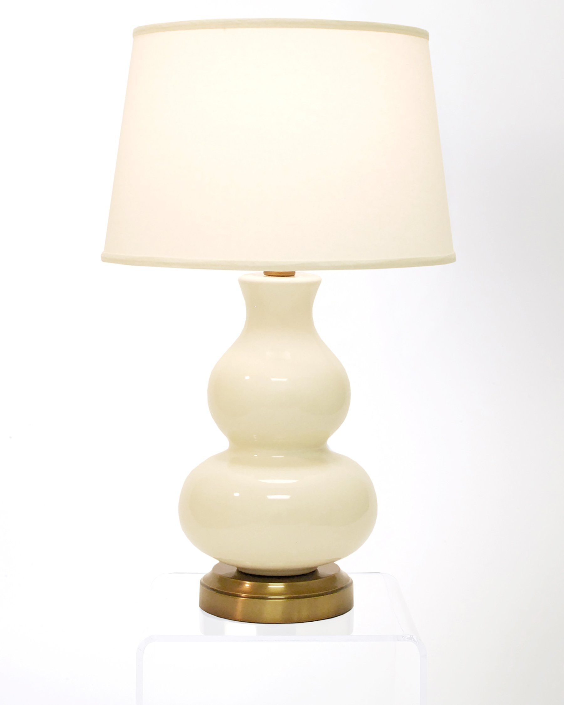 Marilyn Ivory On Brass Cordless Lamp Made In The Usa intended for measurements 1800 X 2250