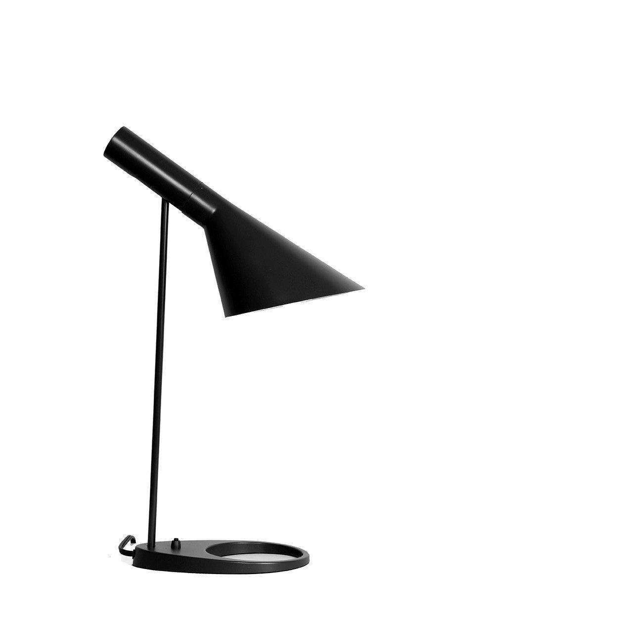 Mid Century Aj Table Lamp Black with regard to sizing 1250 X 1250