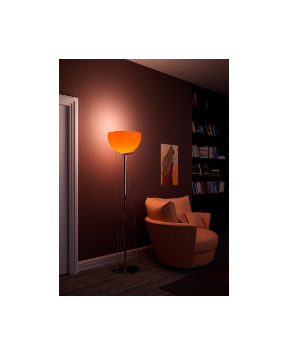 Modern Orange Murano Floor Lamp Mars Mavros Lighting Factory with regard to dimensions 973 X 1200