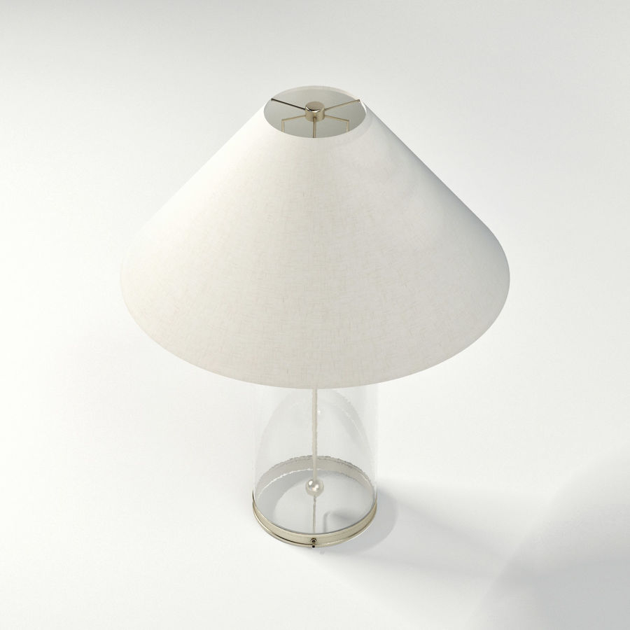 Modern Table Lamp 3d Model 12 Fbx Obj Max Free3d for proportions 900 X 900