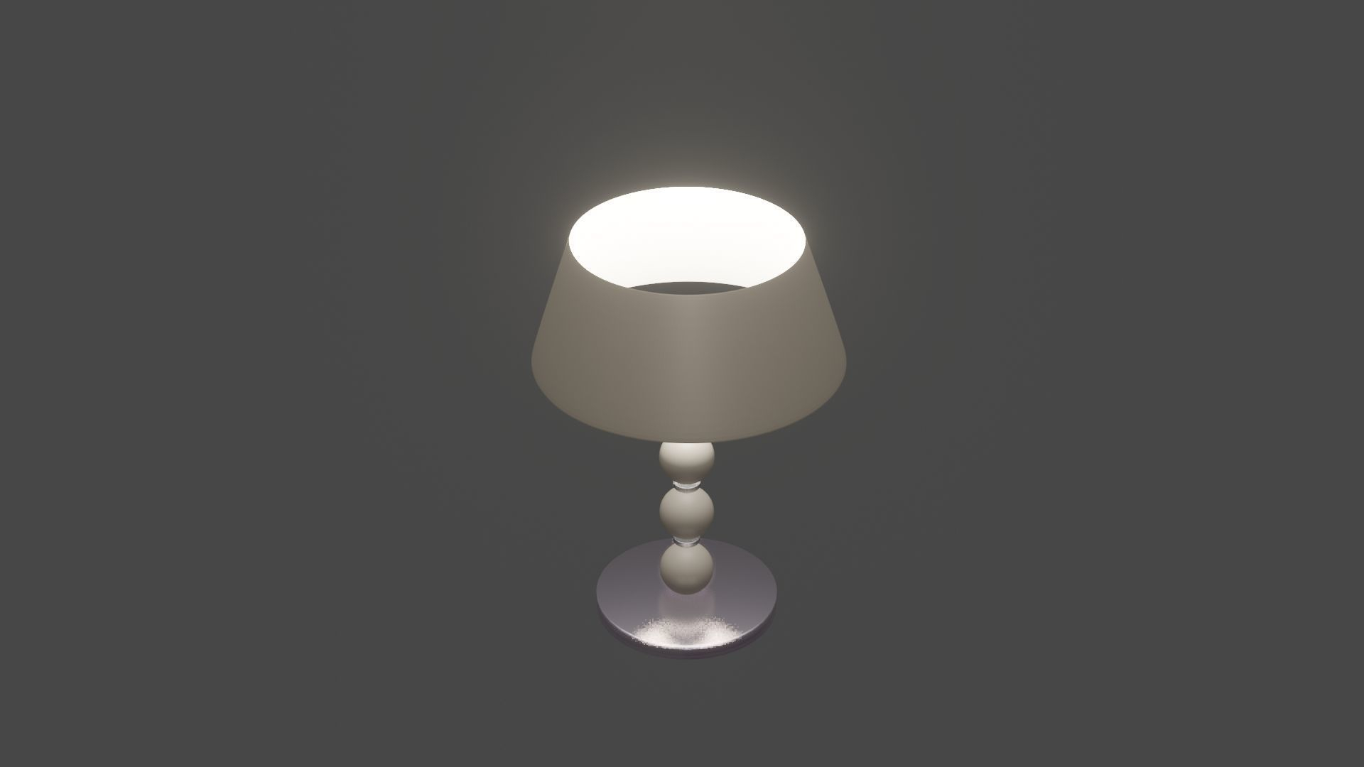 Modern Table Lamp 3d Model with regard to sizing 1920 X 1080
