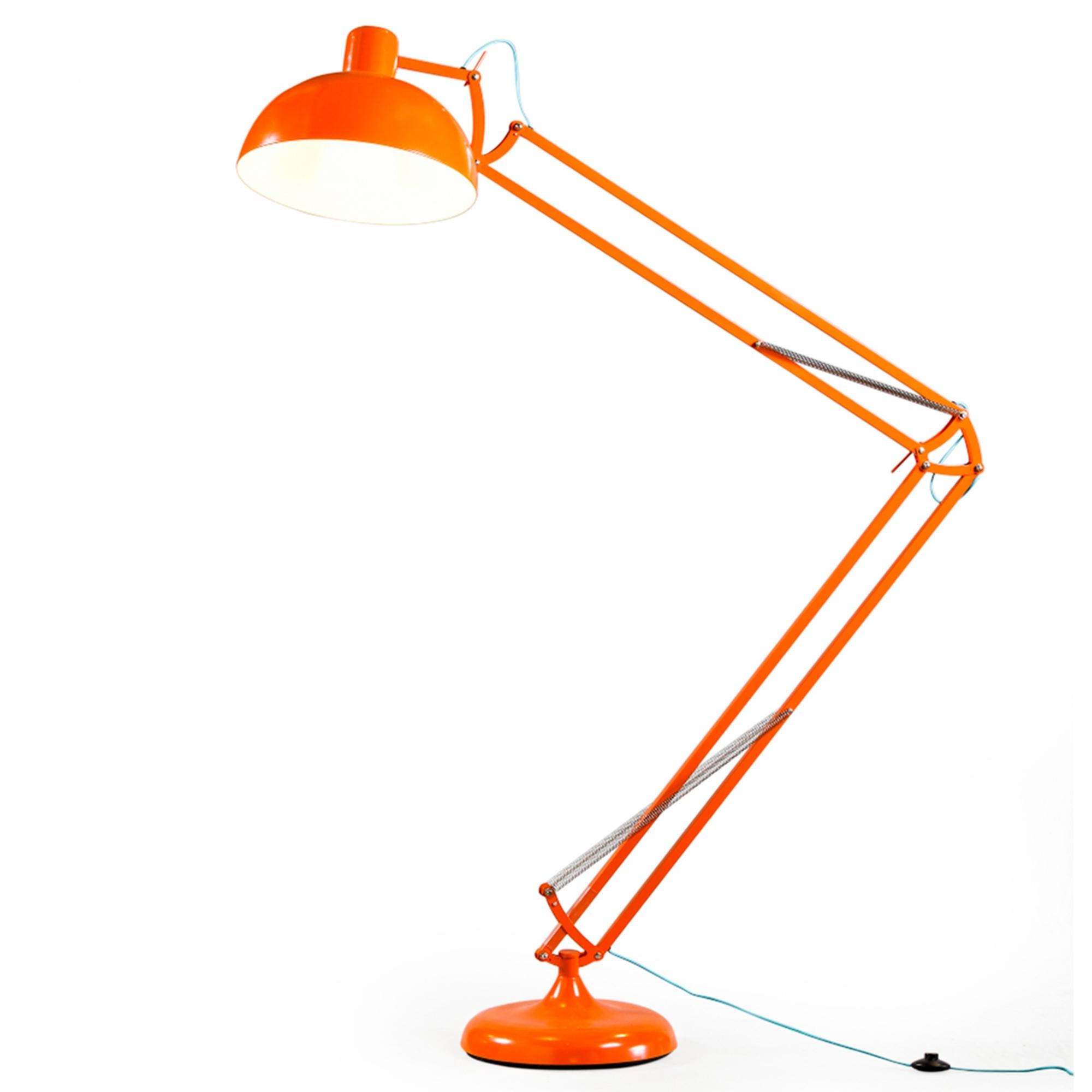 Orange Xxl Classic Desk Style Floor Lamp for size 2000 X 2000