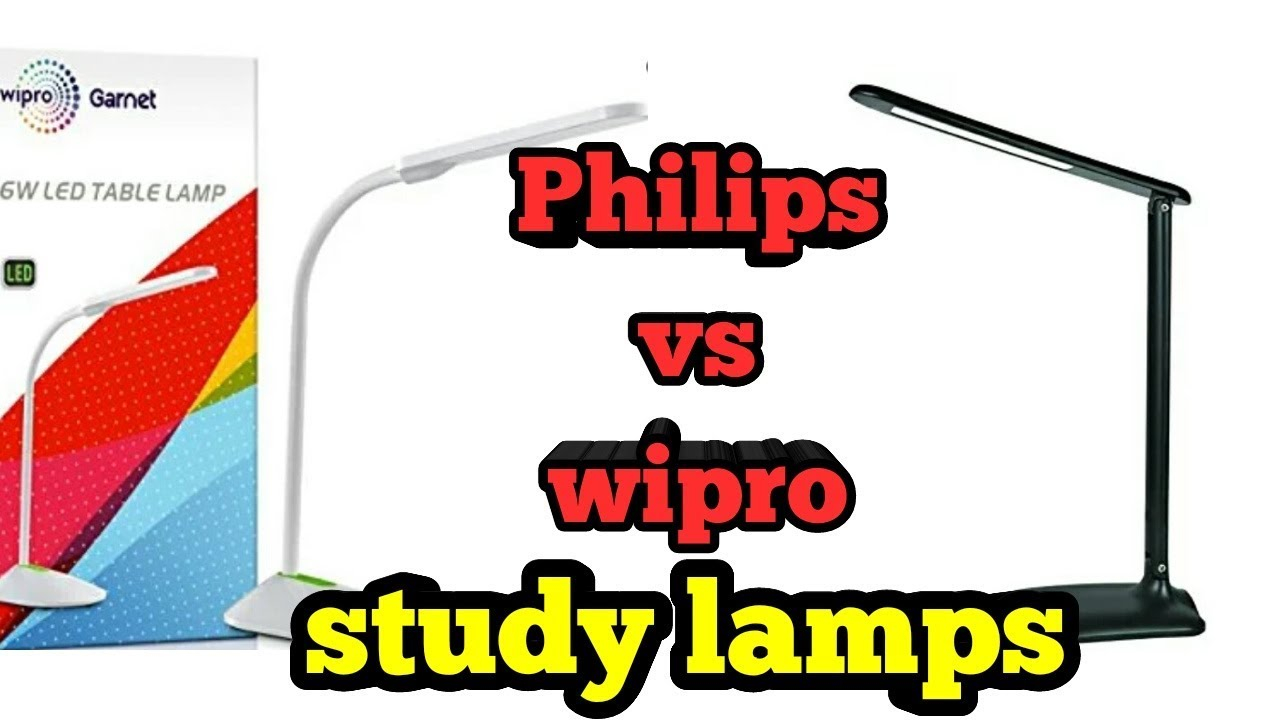 Philips Air 5w Vs Wipro Garnet 6w Study Lamps In India intended for measurements 1280 X 720