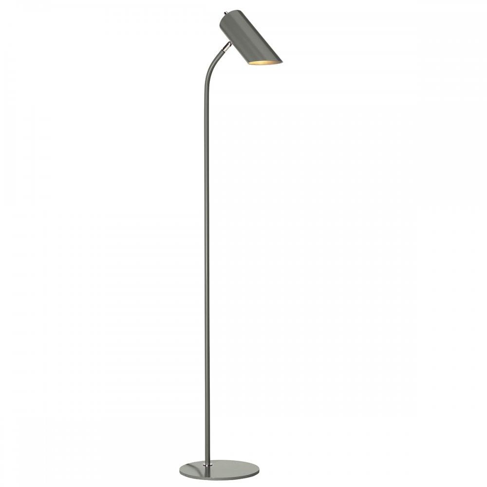 Quinto Contemporary Dark Grey Floor Lamp for proportions 1000 X 1000