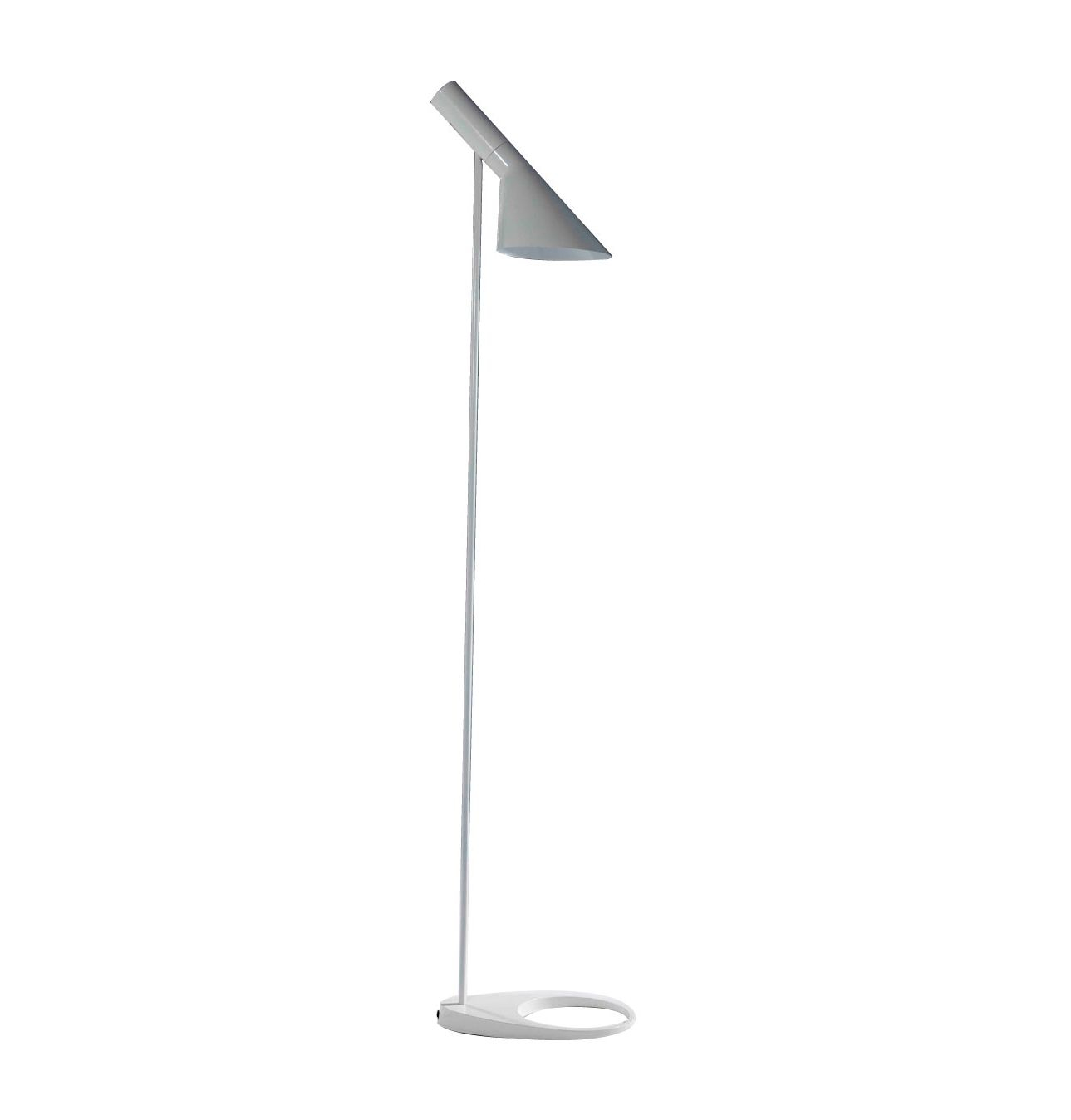 Replica Aj Floor Lamp Arne Jacobsen Matt Blatt 248 throughout measurements 1289 X 1348
