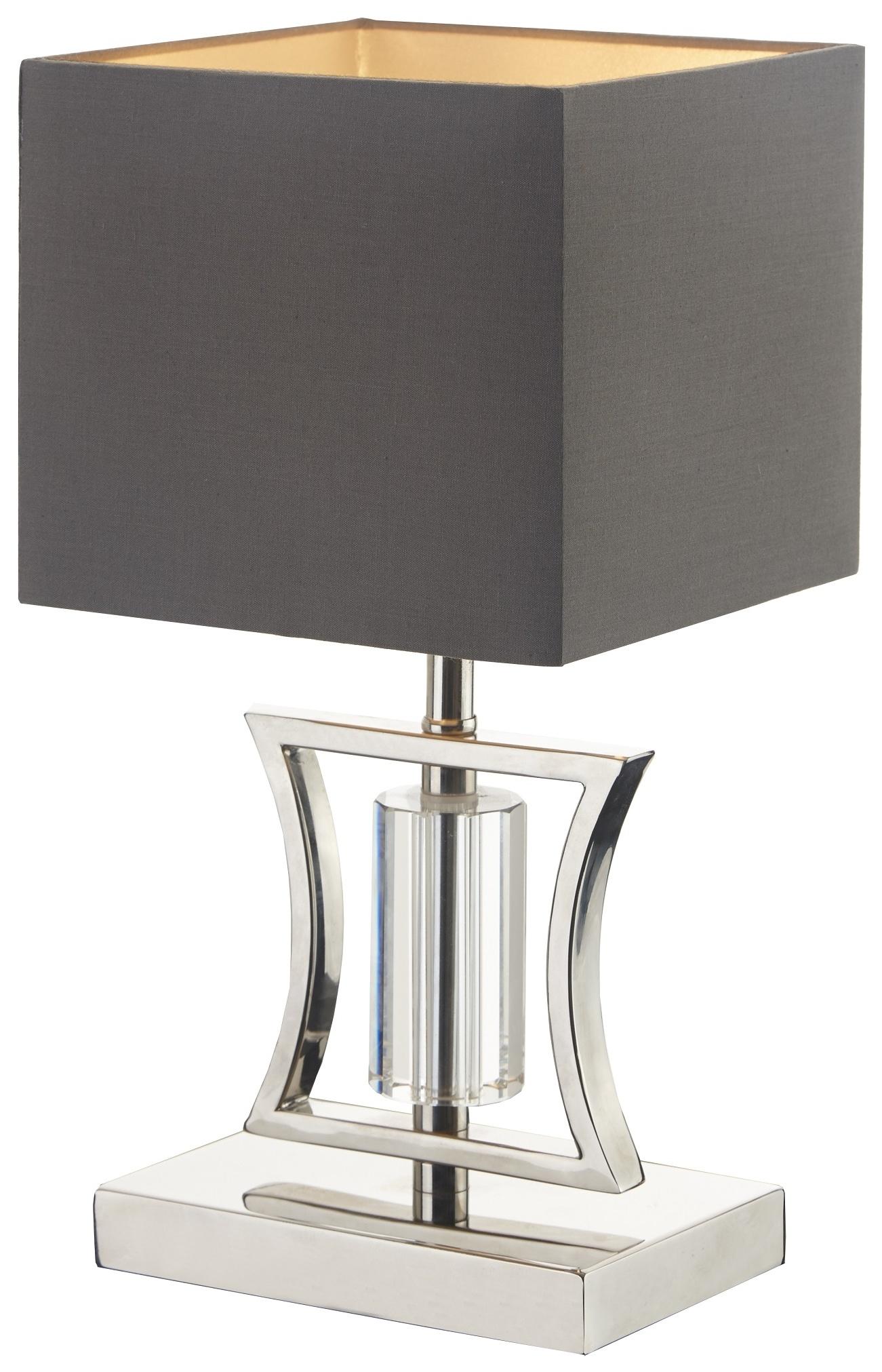 Rv Astley Aberto Table Lamp Satin Nickel And Crystal regarding dimensions 1301 X 2023