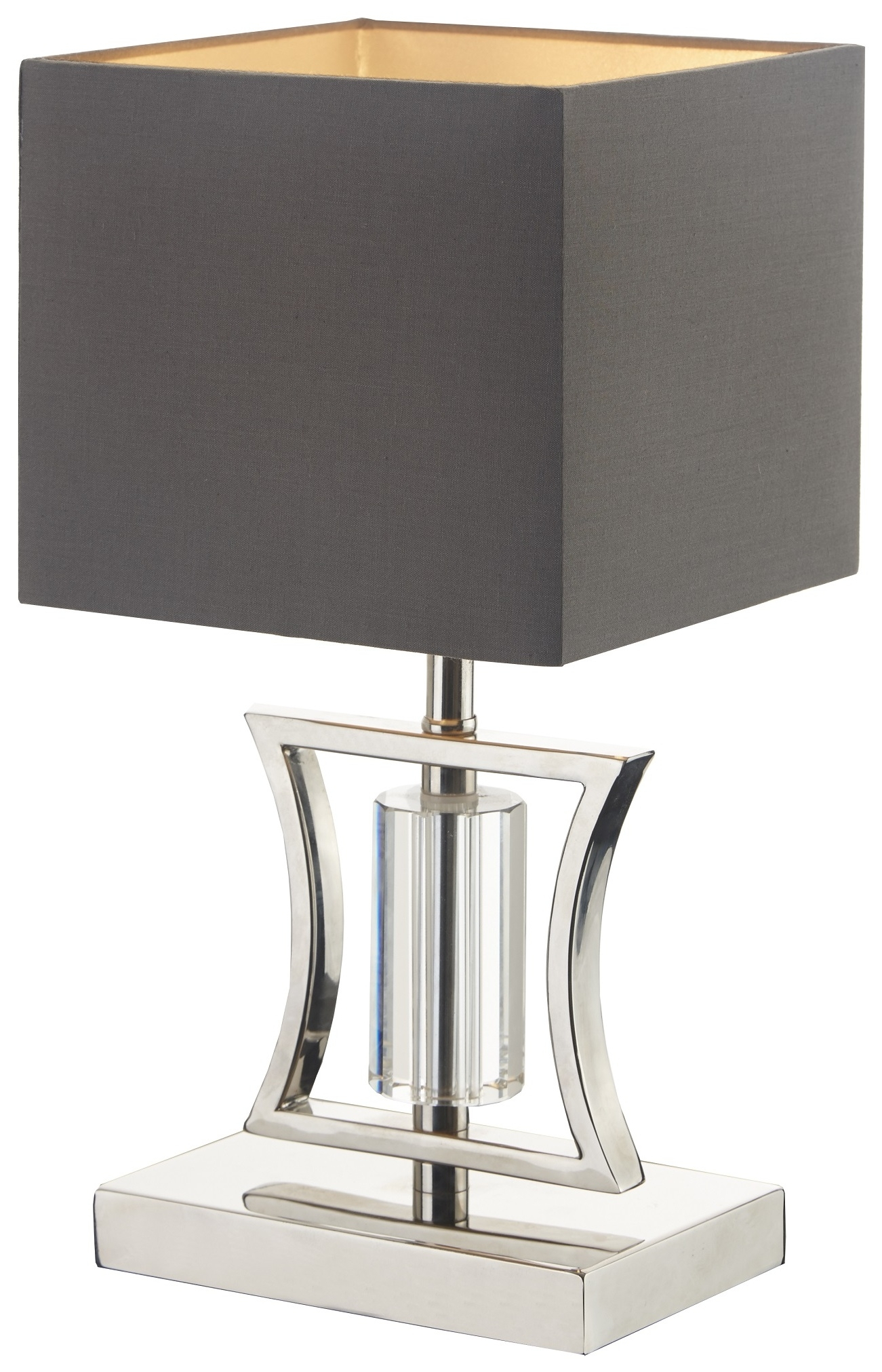 Rv Astley Aberto Table Lamp Satin Nickel And Crystal throughout size 1301 X 2023