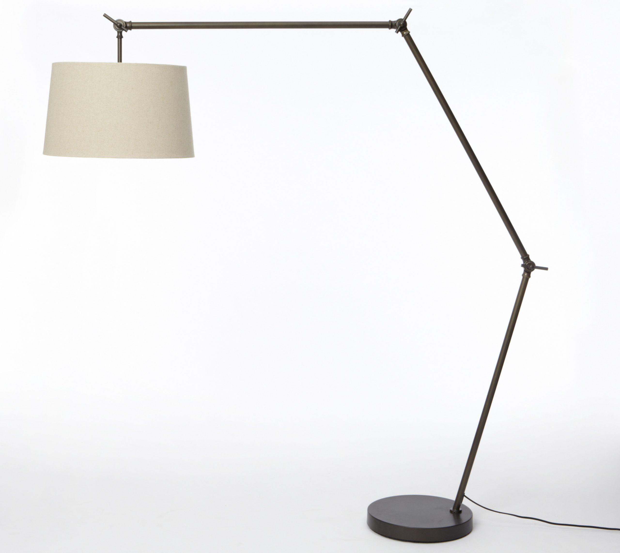 West Elm Standing Floor Lamp Display Cabinet