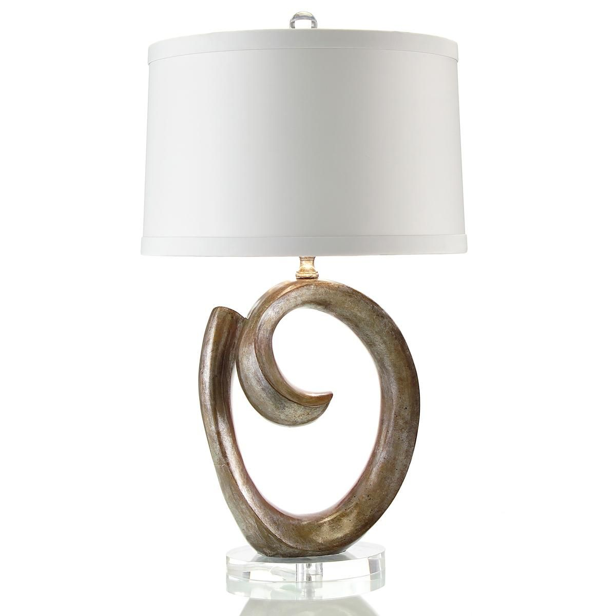 Swirl Sculpture Table Lamp Table Lamp Contemporary Light inside proportions 1200 X 1200