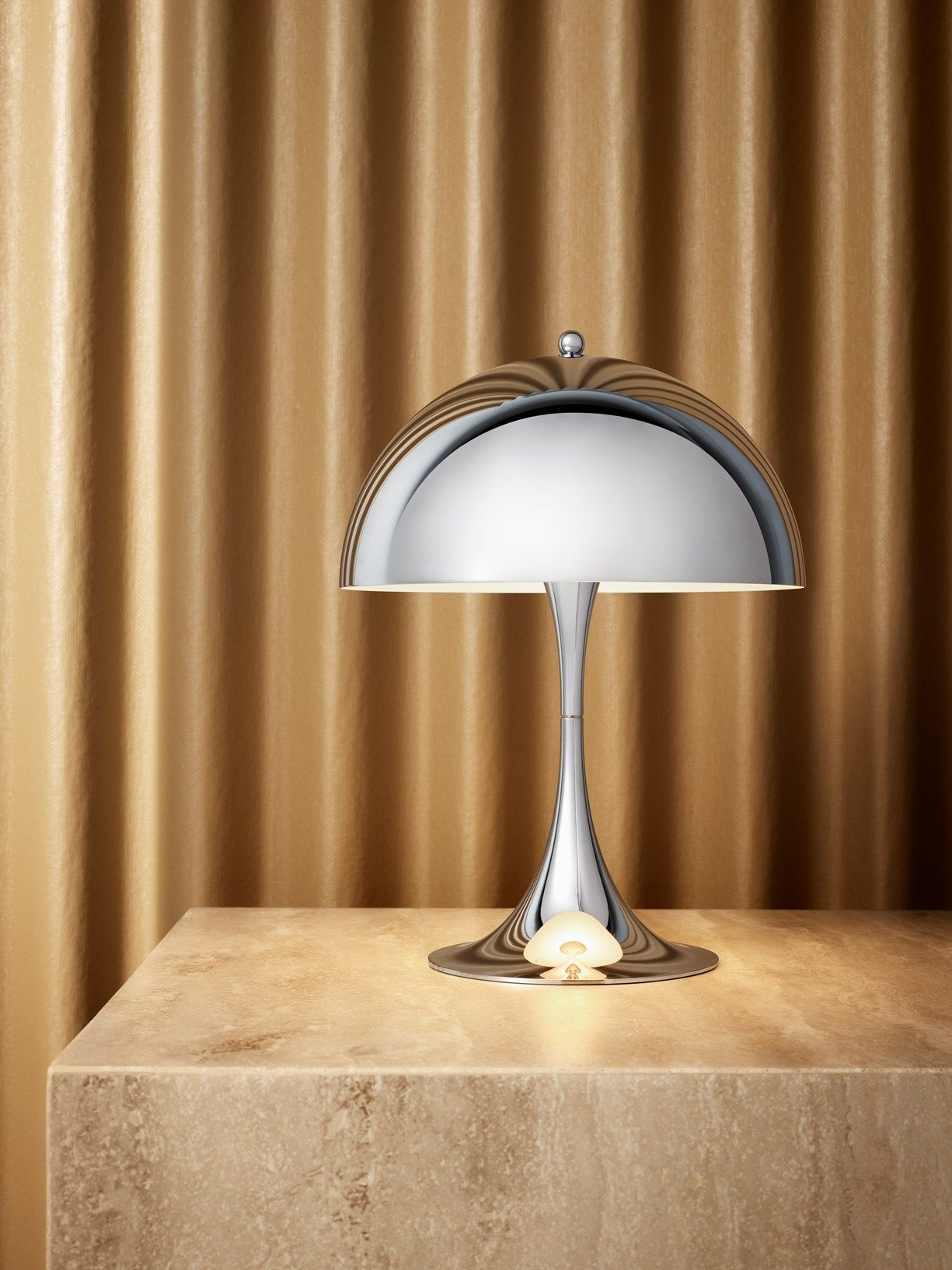 Verner Pantons Iconic Panthella Mini Shines Bright In intended for sizing 1225 X 1633