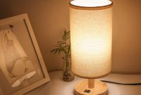 Wood Bedside Lamp Small Nightstand Lamp End Table Lamp For throughout measurements 1500 X 1500