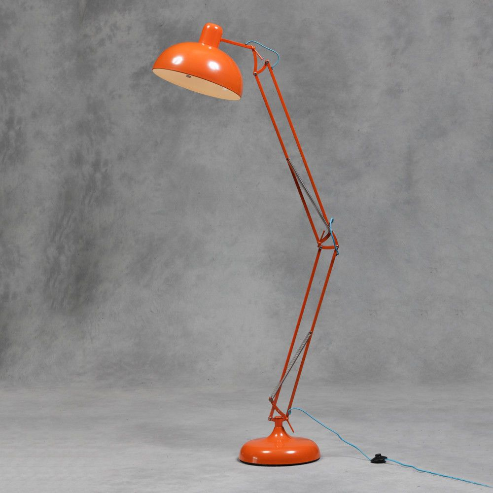 Would Look Awesome In A Breakout Area Orange Floor Lamps with regard to size 1000 X 1000