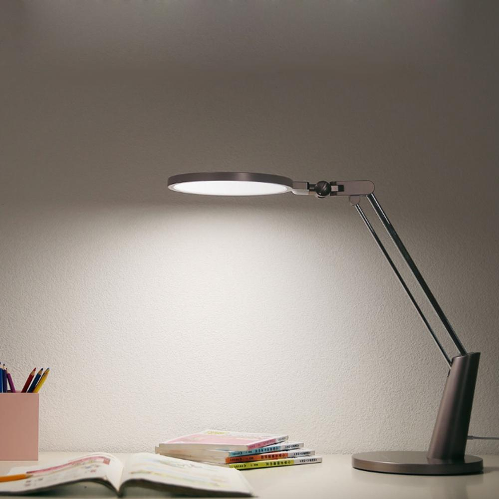Yeelight Yltd04yl 15w Led Smart Eye Protection Table Lamp Dimming App Control Reading Light Xiaomi Ecosystem Product inside proportions 1000 X 1000