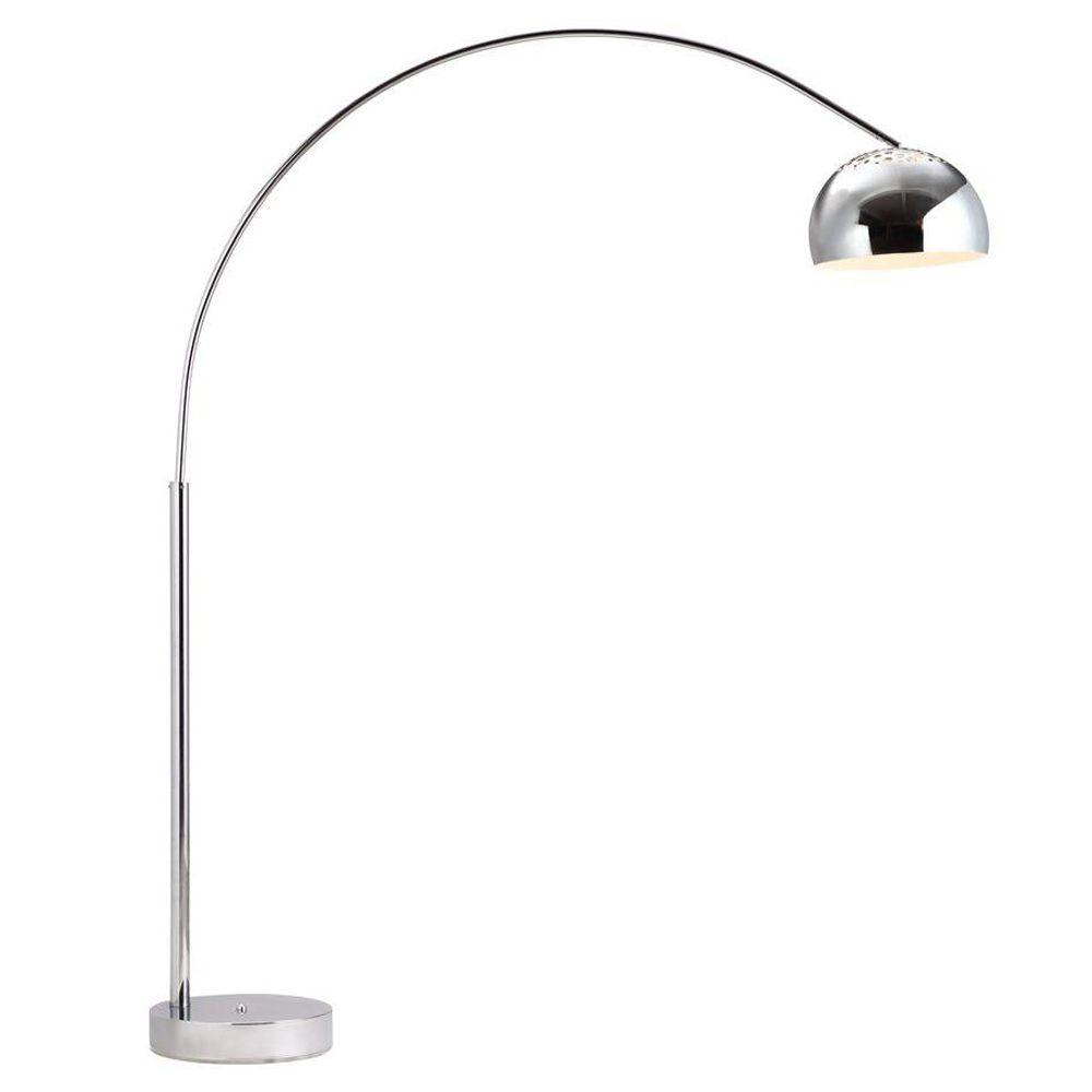 Zuo Galactic 801 In Chrome Floor Lamp inside dimensions 1000 X 1000