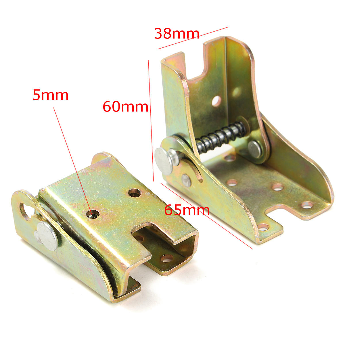 2pcs Folding Feet Hinges Self Lock Zinc Alloy For Table Leg Bracket regarding sizing 1200 X 1200