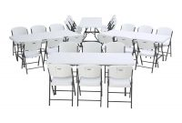 6 Ft Commercial Nesting Lifetime Plastic Table 12 Pack With 72 Pack Chairs 80545 White Granite throughout proportions 1500 X 1500