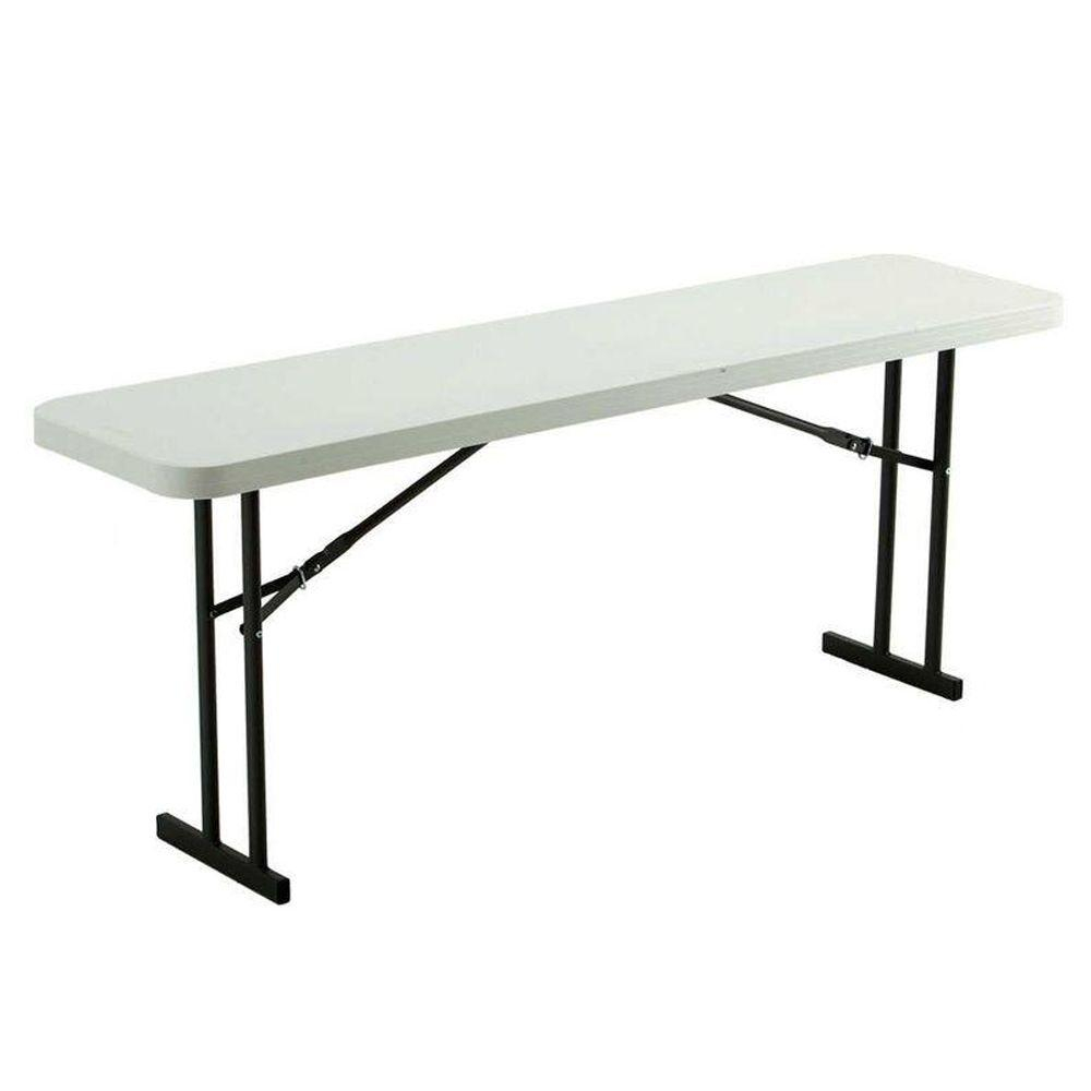 6 Ft Folding Seminar And Conference White Table Folding regarding dimensions 1000 X 1000