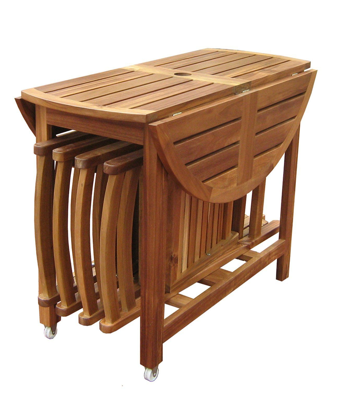Acacia Folding Table And Chair Set The Sides Of The Acacia with size 1300 X 1528
