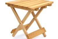 Awesome Small Wood Folding Table End Chic Wooden Quick Stool pertaining to sizing 1000 X 1000