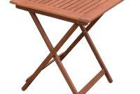 Bolero 600mm Square Wooden Folding Table inside proportions 1100 X 1100