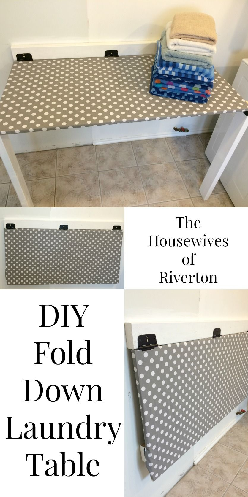 Diy Drop Down Laundry Table Laundry Table Laundry Room with regard to sizing 835 X 1675