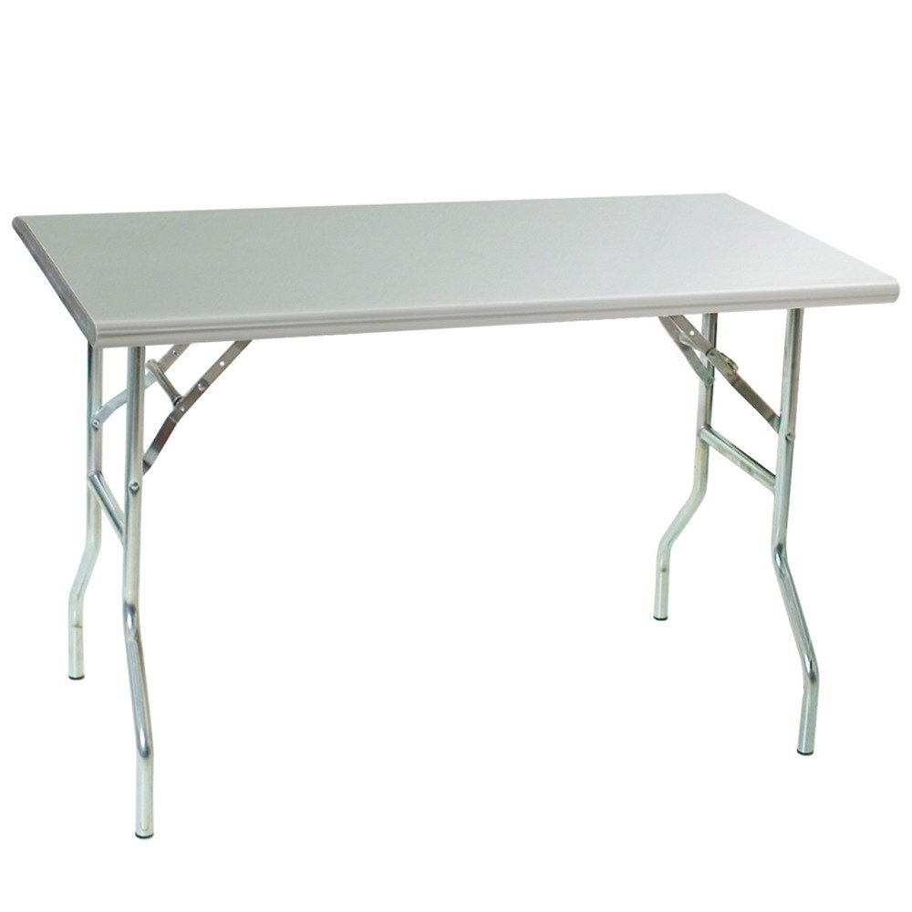 Eagle Group T3072f Stainless Steel Folding Table 30in X 72in pertaining to proportions 1000 X 1000