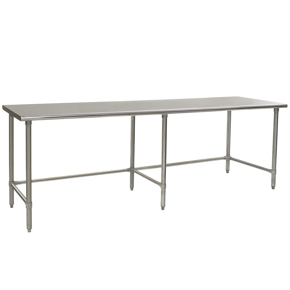 Eagle Group T3096gte 30 X 96 Open Base Stainless Steel Commercial Work Table with regard to size 1000 X 1000