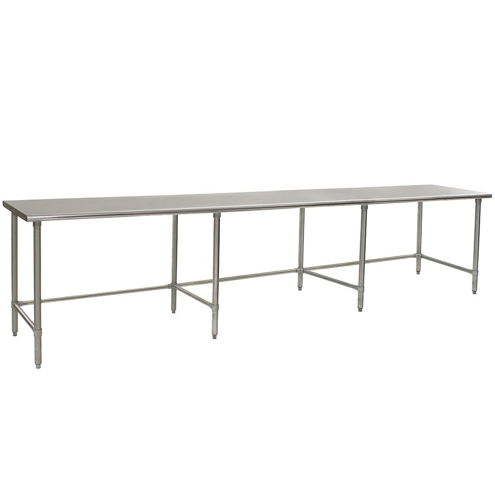 Eagle Group T4884gte 48 X 84 Open Base Stainless Steel Commercial Work Table pertaining to dimensions 1000 X 1000