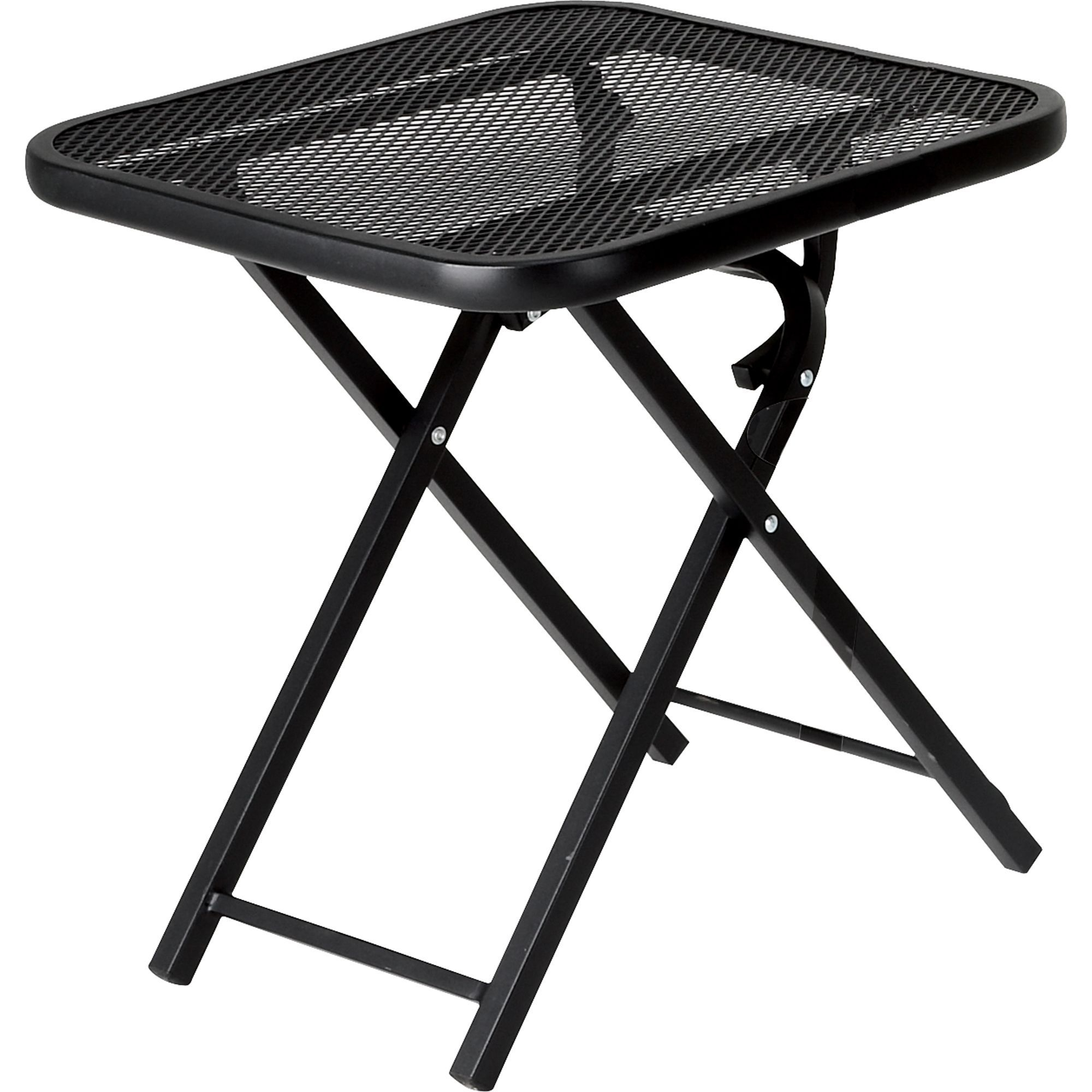 Garden Oasis Wrought Iron Folding Patio Table Outdoor with regard to dimensions 2000 X 2000