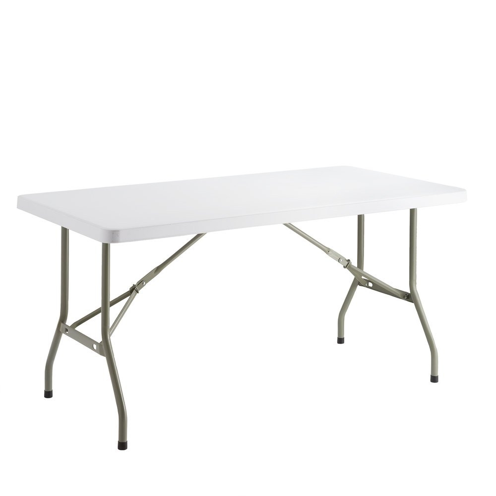 Lancaster Table Seating 30 X 60 Heavy Duty Granite White Plastic Folding Table with sizing 1000 X 1000