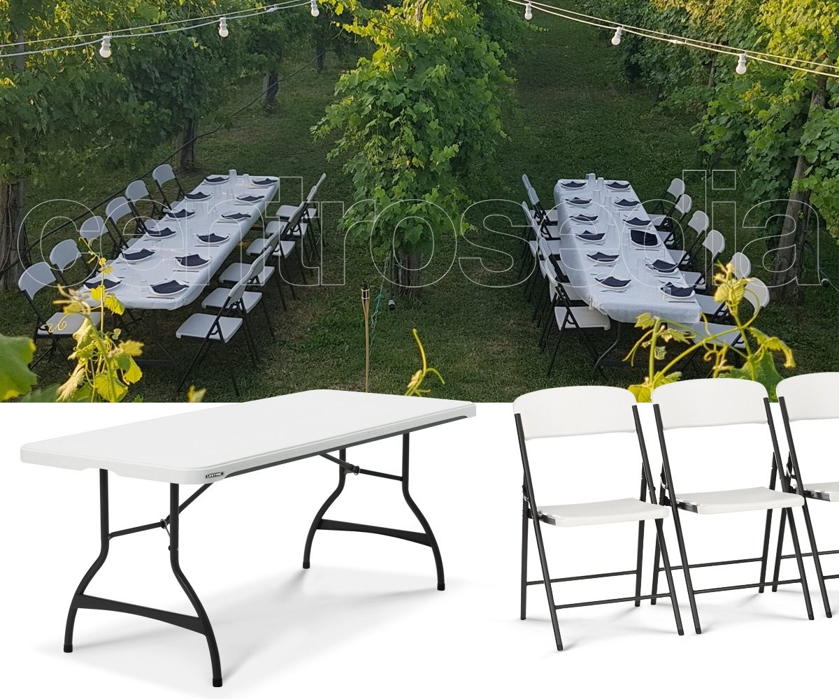 Lifetime 80272 Folding Table 183x76cm Folding Tables for dimensions 1200 X 1000