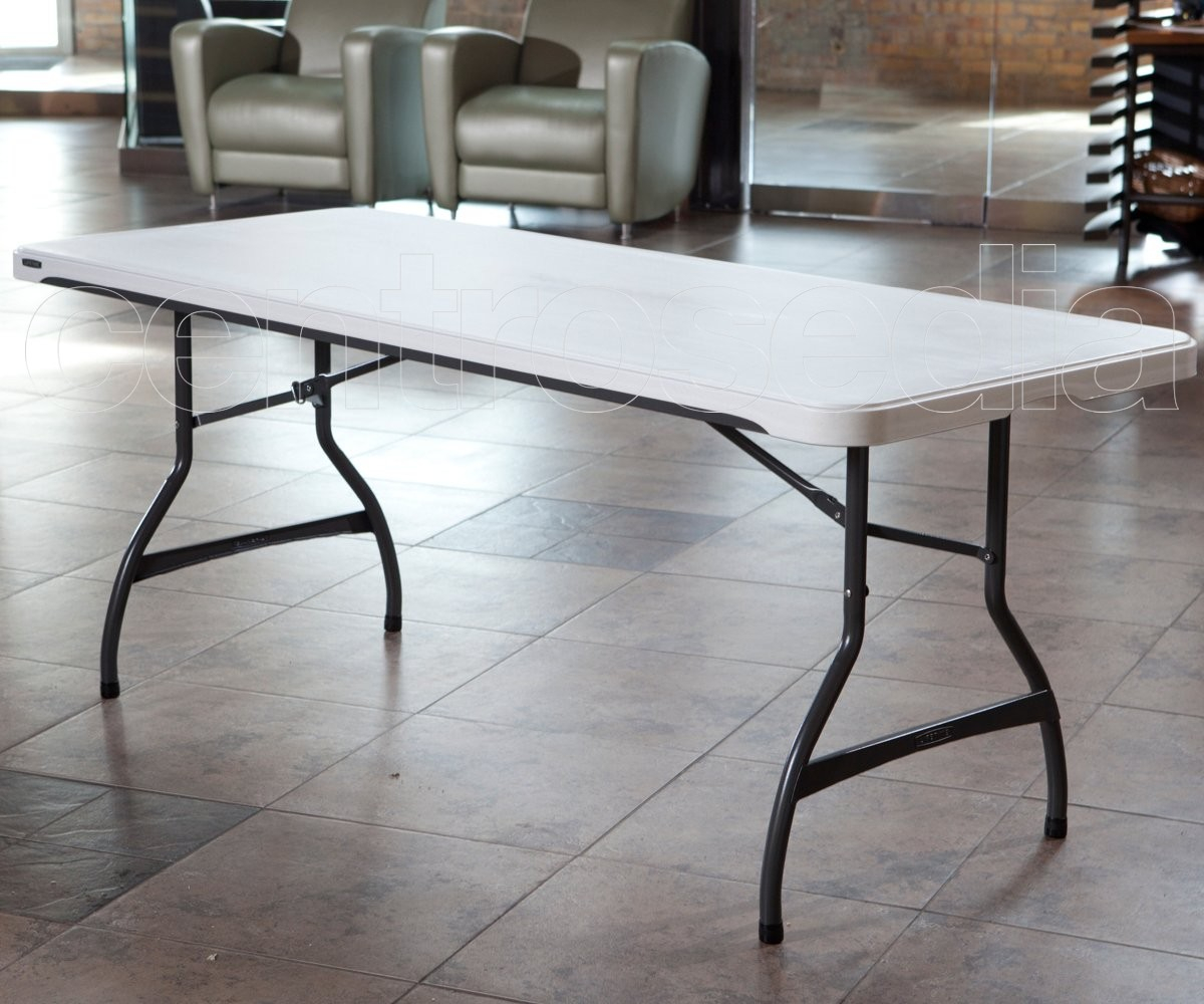 Lifetime 80272 Folding Table 183x76cm Folding Tables in sizing 1200 X 1000