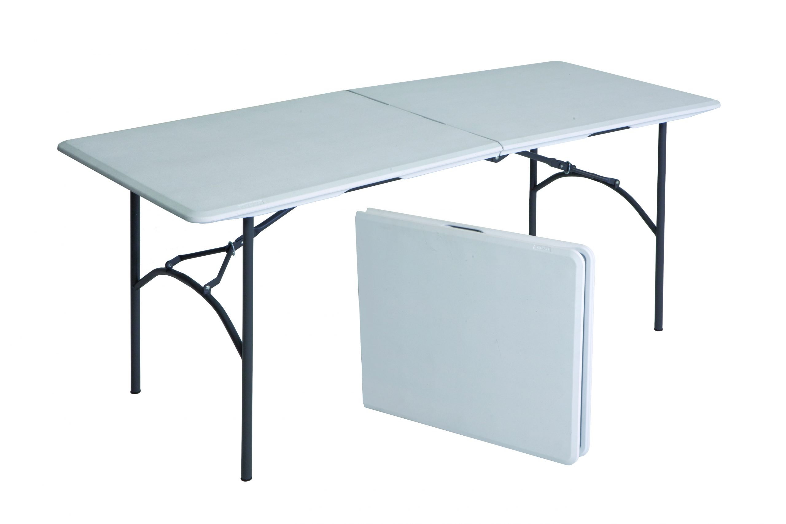 Marquee 183 X 76 X 73 Steel Bi Fold Blow Mould Table within size 5616 X 3744