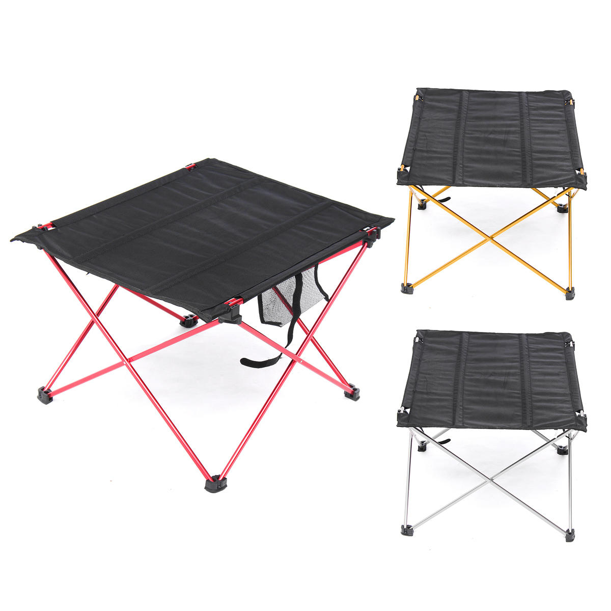 Outdoor Lightweight Aluminum Folding Table Portable Camping Flexible Desk inside proportions 1200 X 1200