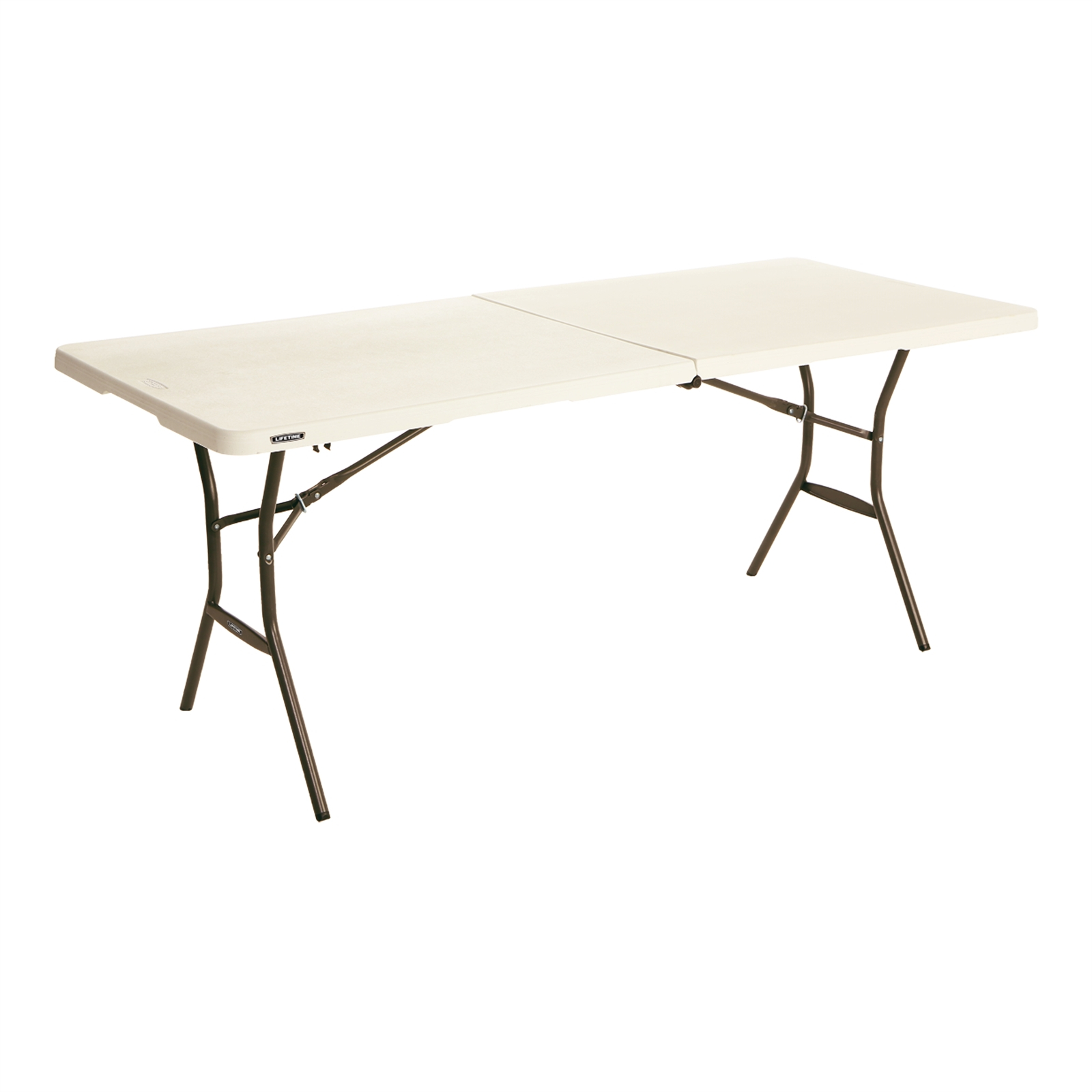 Plastic Folding Table with size 1600 X 1600