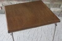 Reserved Samsonite Card Table Fiberboard 1950s inside dimensions 1125 X 1500