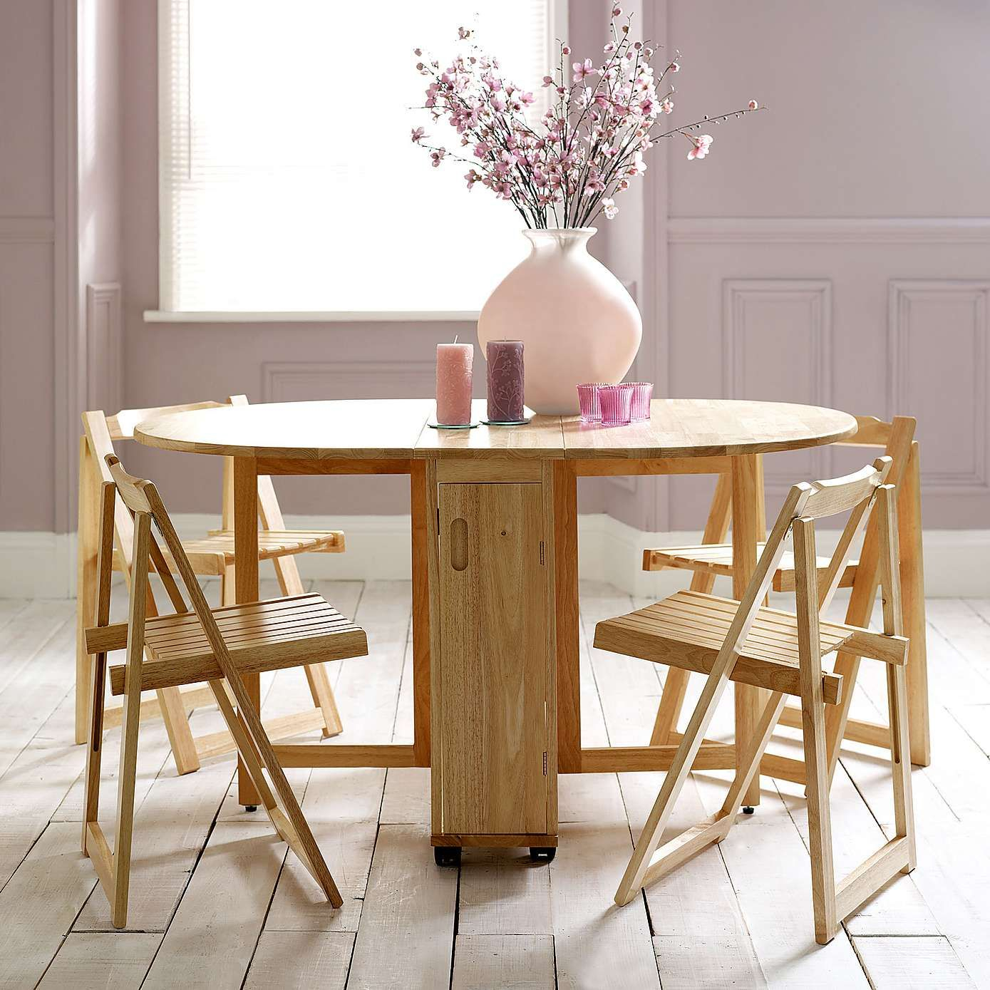 Rubberwood Butterfly Table With 4 Chairs Dunelm Small within dimensions 1389 X 1389