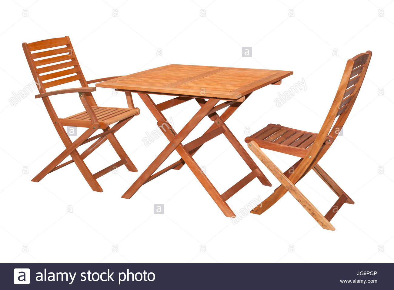 Set Of Folding Wooden Garden Furniture Table And Chairs inside proportions 1300 X 956
