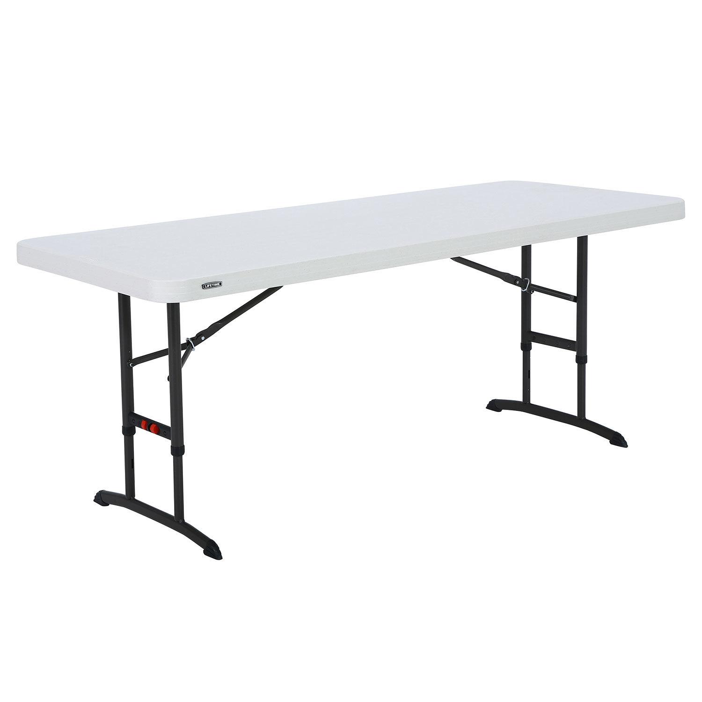 Tables Folding Tables Lifetime174 72quot Adjustable for measurements 1500 X 1500