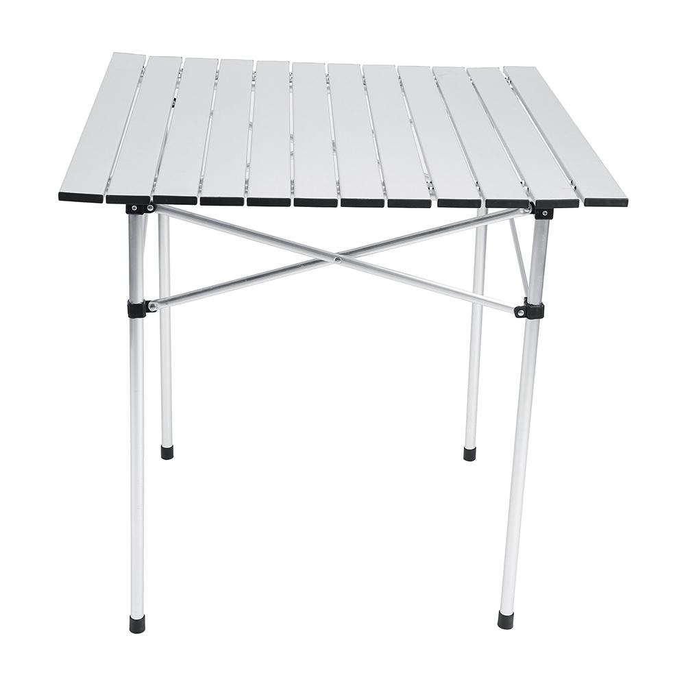 Us 205 35 Offportable Slate Style Aluminium Lightweight Roll Up Fold Away Fishing Camping Table In Outdoor Tables From Furniture On Aliexpress pertaining to sizing 1001 X 1001