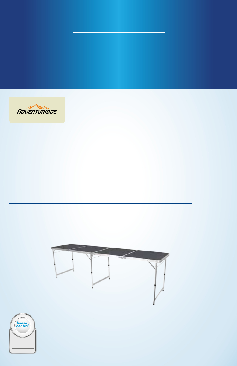 User Manual Adventuridge 94 Extra Long Aluminum Folding intended for proportions 792 X 1224