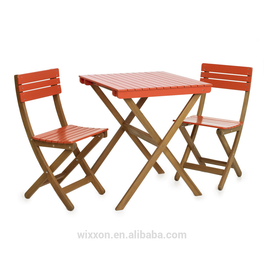 Wooden Folding Garden Table Setchair Setwooden Bistro Table Setbistro Chair Setpatio Wooden Table Setgarden Chair Set View Wooden Table Set with regard to proportions 1000 X 1000